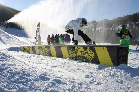 Monte Bondone snowboard