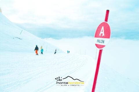 Monte Bondone sci